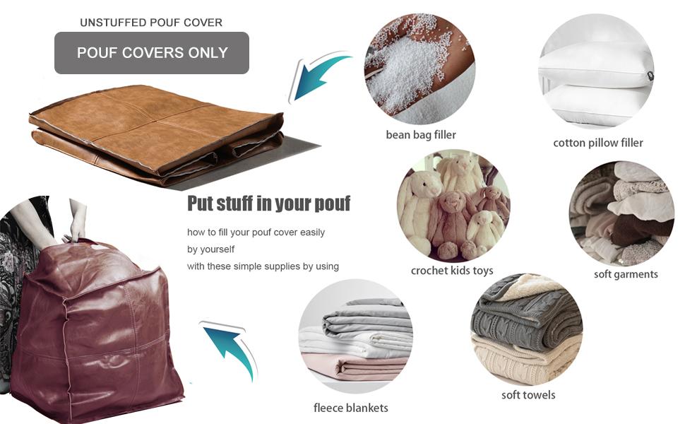 pouf cover