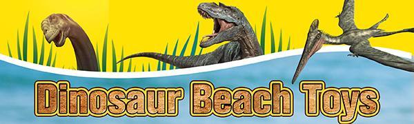 Dinosaur beach toys