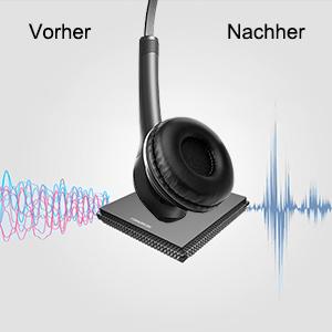 Reduzieren Sie Hintergrundgeräusche und tätigen Sie klare Anrufe
