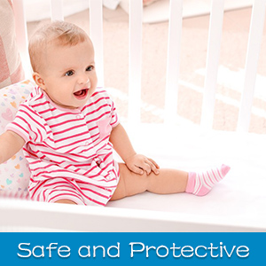 safe and protective mattress protector