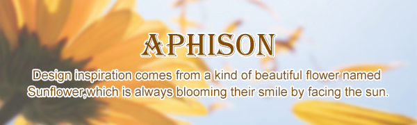 APHISON Geldbörse Damen Portemonnaie Damen
