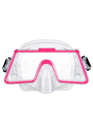 diving mask pink