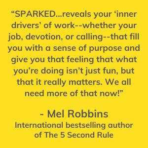 Mel Robbins, International Author, Sparked, Jonathan Fields