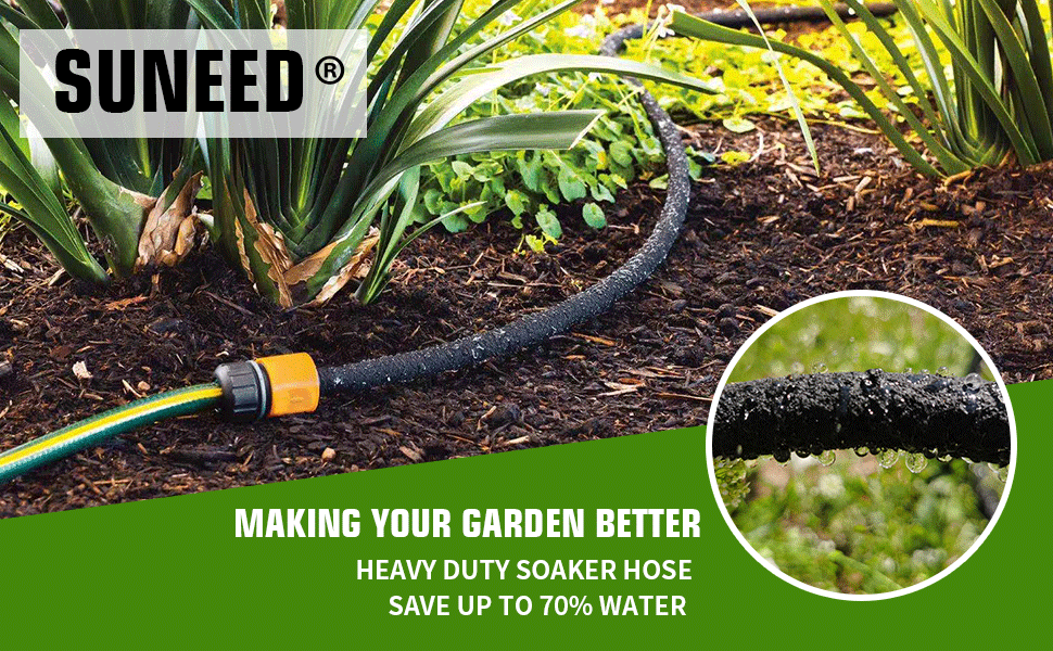 soaker hose for garden
