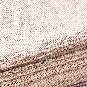 material close up halfmoon yoga blankets
