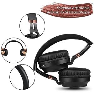 bluetooth headphones on ear