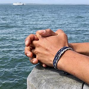 Sailor and Surfer Rope Bracelets Handmade on Martha's Vineyard