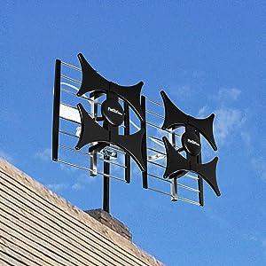 Five Star Multi-Directional 4V HDTV Antenna - up to 200 Mile Range