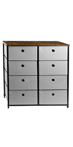 8 Drawers Dresser