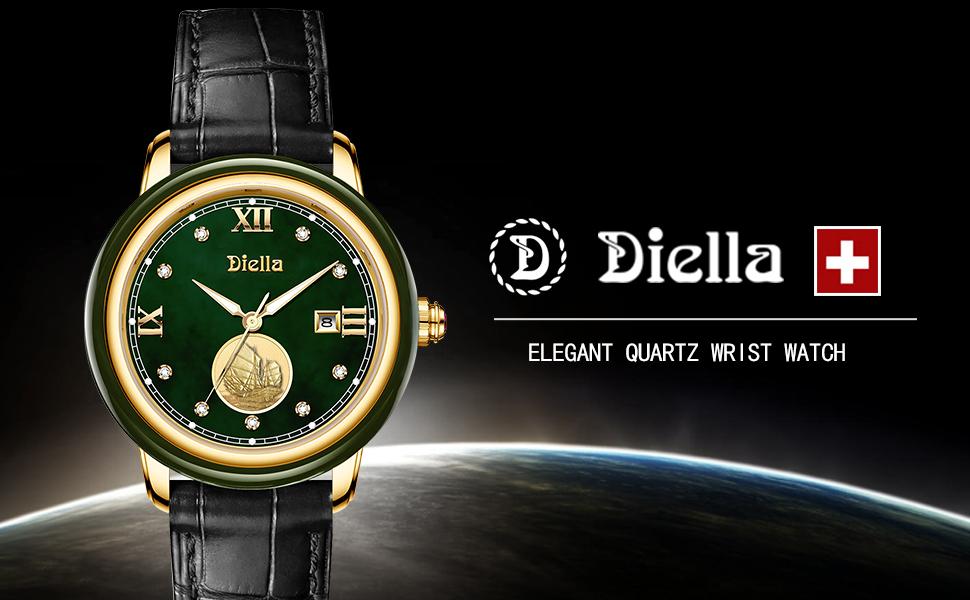 Diella Women's Quartz Wrist Watch