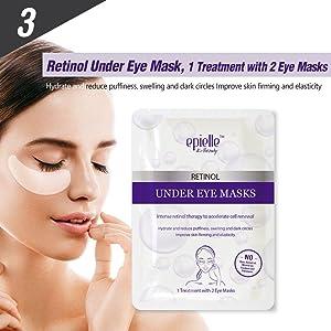 Retinol Under Eye Mask