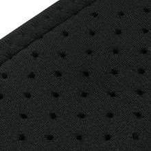 The back support made of 4-way stretch elastic material, 3D knitting technology for superior fit