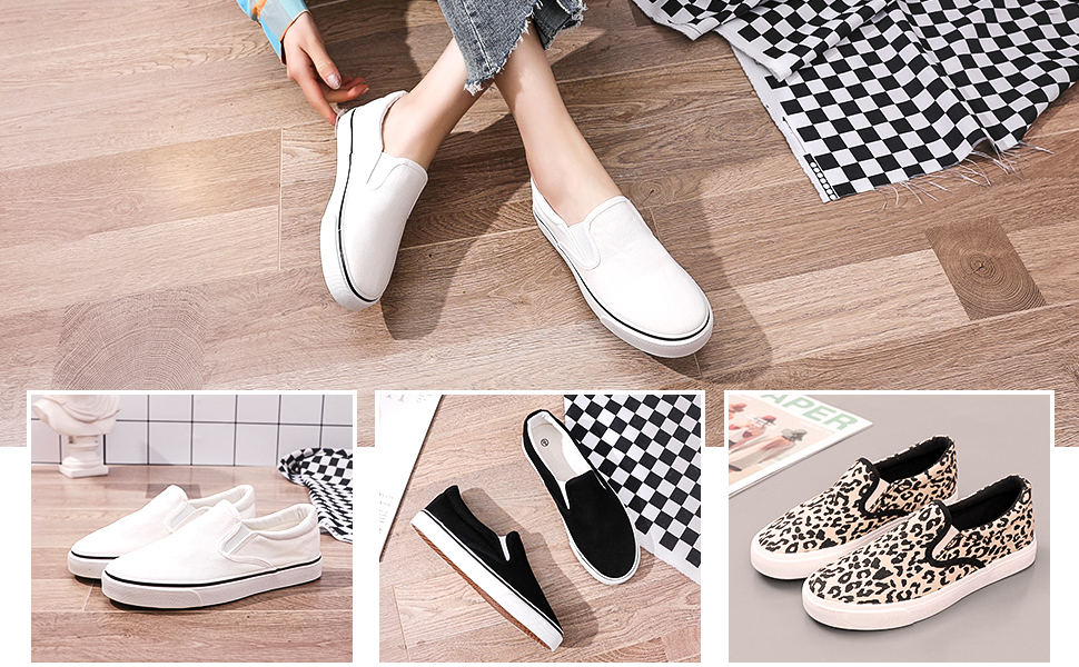 Slip on shoes for women