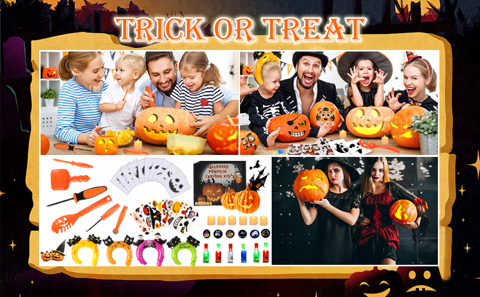 Halloween carving tools for kids