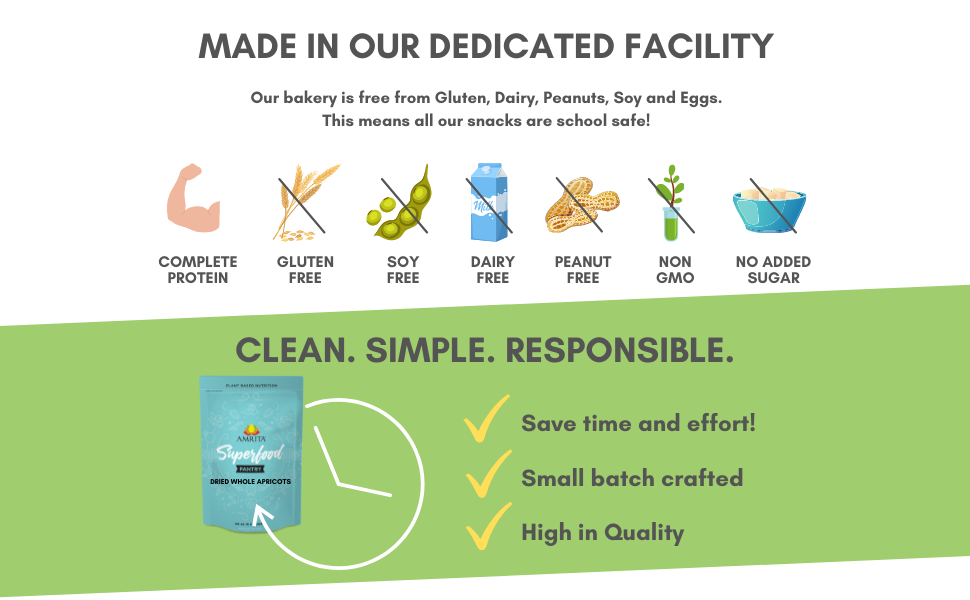 Made in our dedicated facility