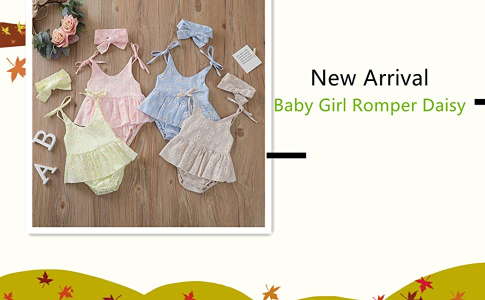 Baby Girl Clothes Daisy