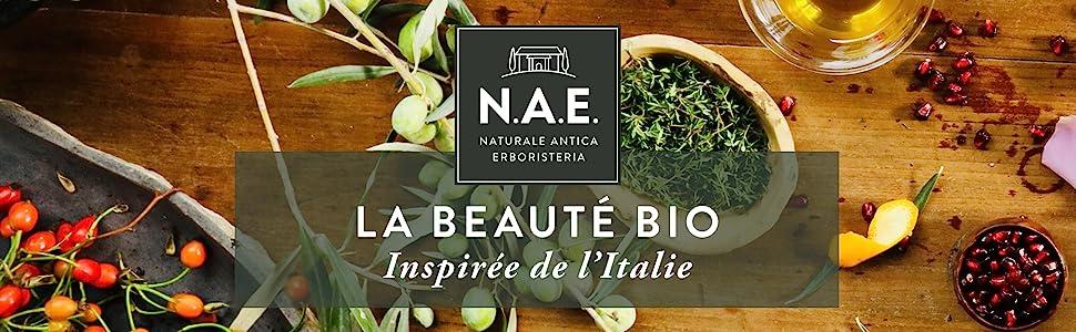 N.A.E., La beauté BIO, inspirée de l Italie