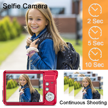 Continuous shooting & Selfie Camera f