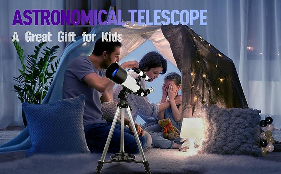 telescope gift for kids beginners