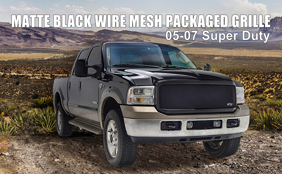 ford super duty mesh grille