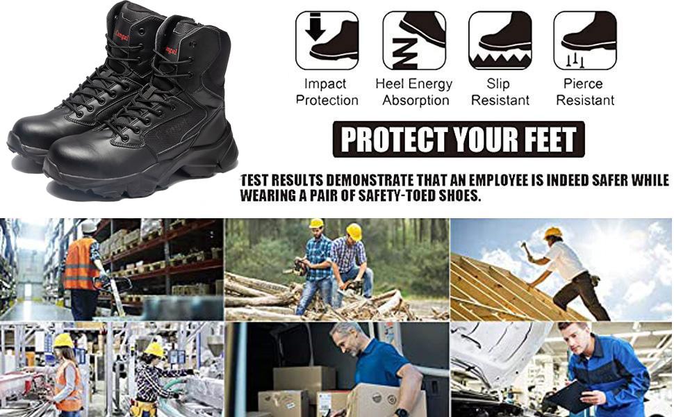 Men's Steel Toe Work Boot