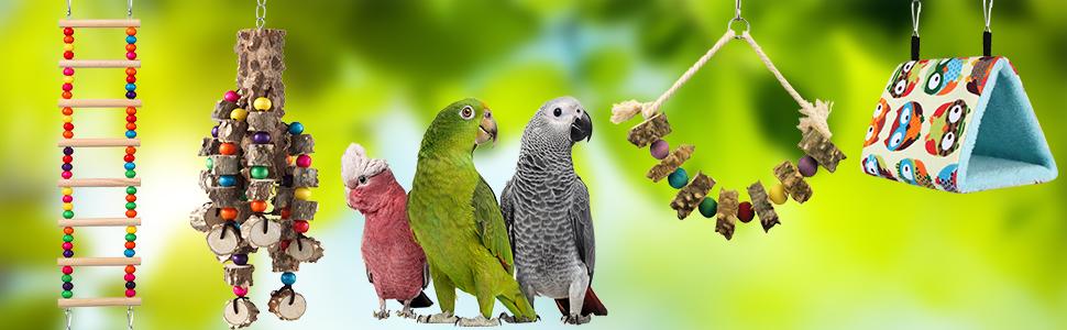 large bird toys