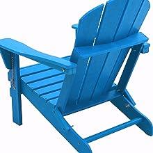 back View Adirondack Chair