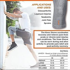 knee sleeve applications