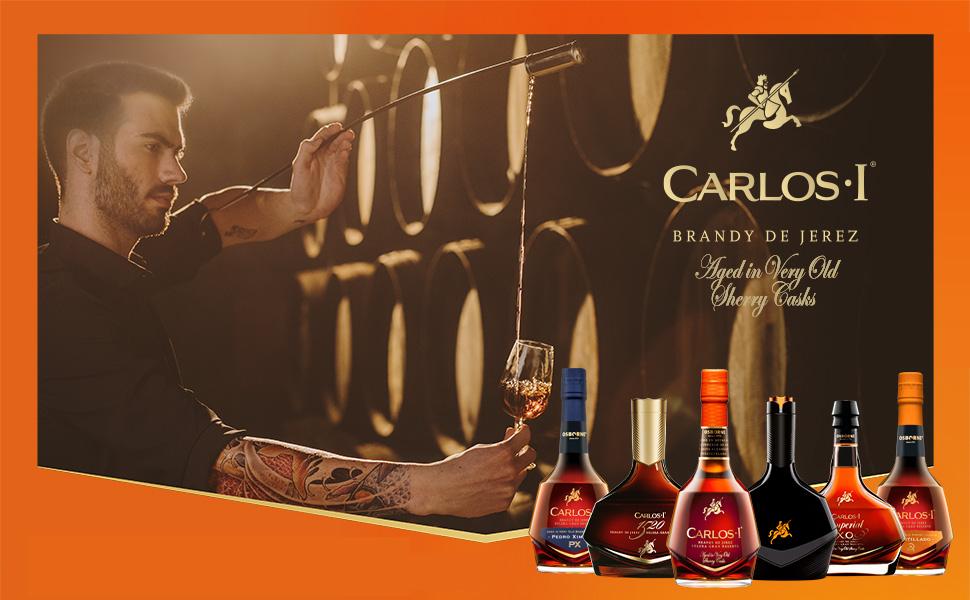CARLOS I, brandy