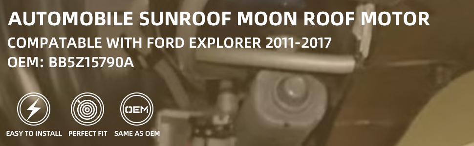 Sunroof Moon Roof Motor