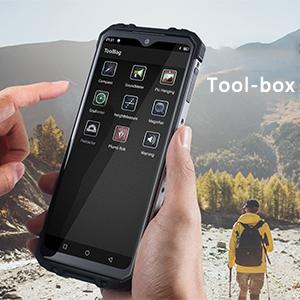 Tool-box of OUKITEL WP8 Pro