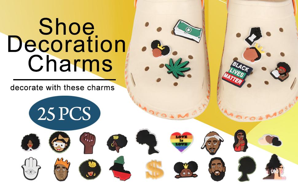 Shoe Charms PVC Croc Clog Charms