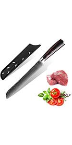 8cm Couteau à Pain