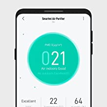 Smartmi HEPA Air Purifiers for Home Large Rooms-App Connected