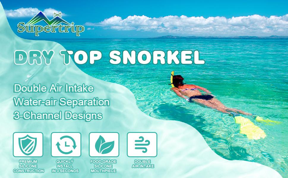 Dry Snorkel Adult