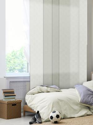 GoDear Design  White Checker Patterns Minimalist Style Room Divider, White Queen