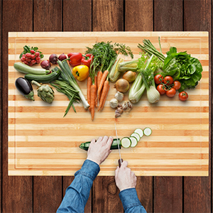 countertop cutting board with adjustable legs