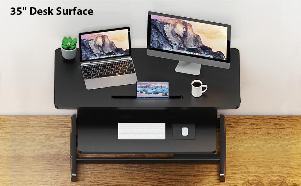 35 Inch Large Desk Riser