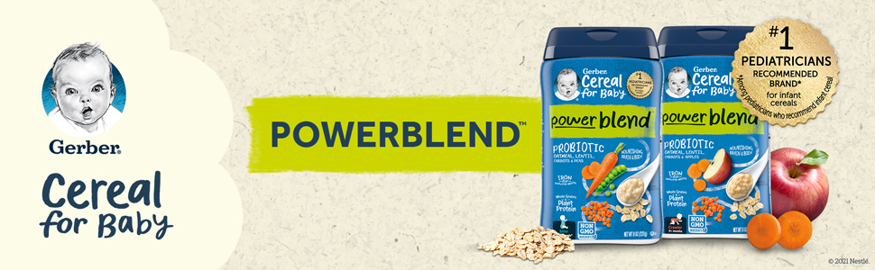PowerBlend Cereal for baby
