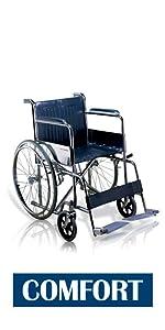 VMS Careline Foldable Wheelchair-COMFORT