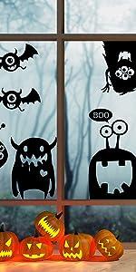 Halloween Eye Monster Clings