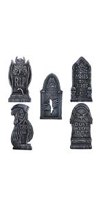5 Pack Demon Foam Tombstone