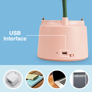 desk lamp with usb charging port