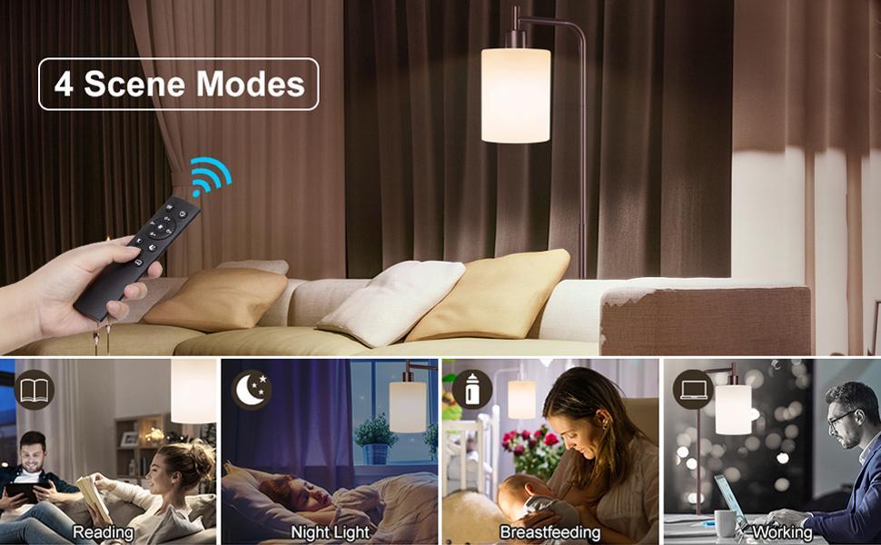 modern floor lamp for bedroom