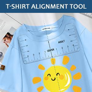 shirt ruler for vinyl alignment cricut accessories tshirt guide ruler for heat press shirt ruler