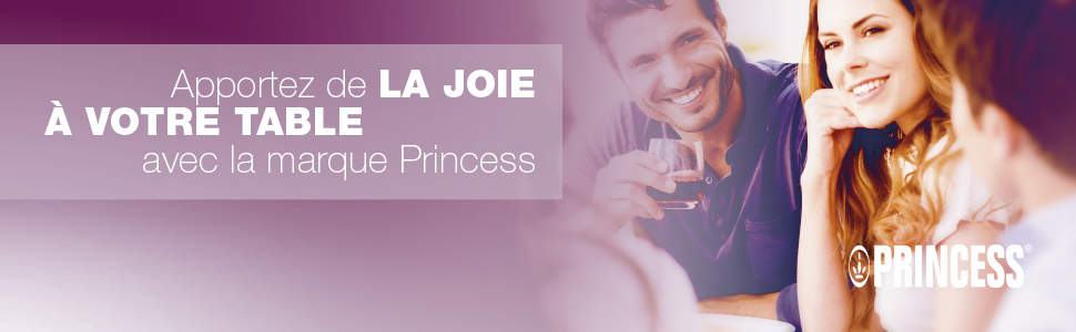 """Bannière """"Apportez de la joie à votre table avec Princess"""""""