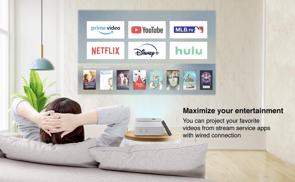 Maximize your entertainment