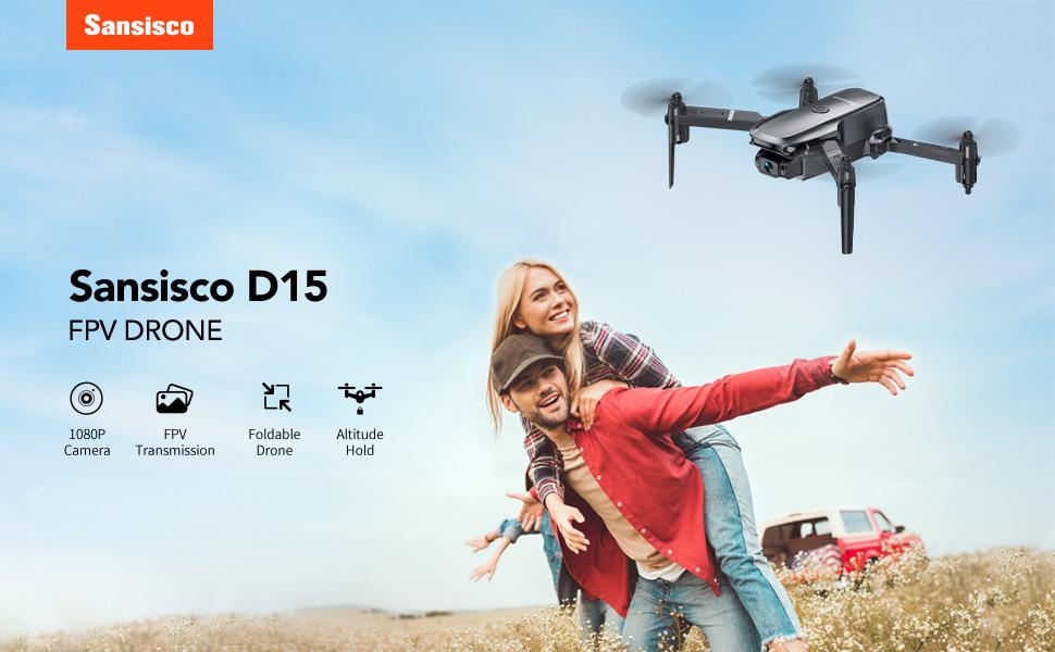 D15 mini drone banner
