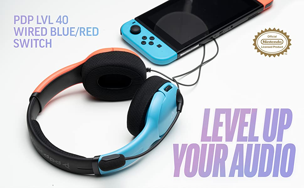 Level up you Audio with the PDP Gaming LVL 40 Switch Headset