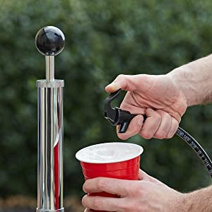 beer party pump corny keg party tap  American Sankey Keg Party Pump D System